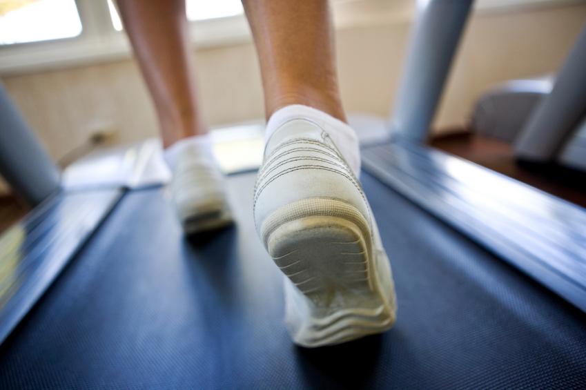 Treadmill running for biomechanical assessment