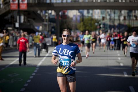 Running - Vancouver Sun Run 2015
